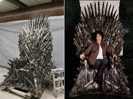 life size iron throne life size game of thrones iron throne replica