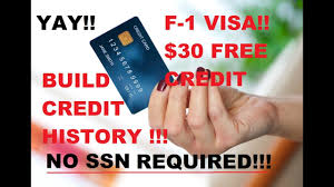 Requiring a social security number (ssn): Best Credit Card For New International Students In Usa No Ssn Required Youtube