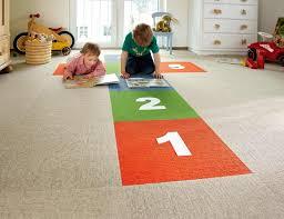 Ein Teppichboden ...