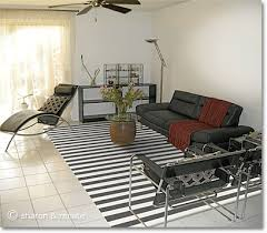 Creativity White Area Rug Living Room Arizona With Black Furniture And For Decorating Ideas