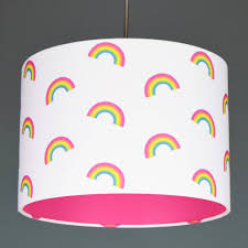 Unicorn Colours Rainbow Lampshade Choice Of Colours By Quirk