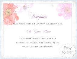Free Reception Invitation Template Wedding Templates Indian Design