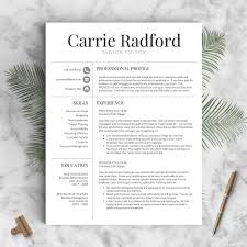 classic professional resume template the carrie landed design classic professional resume template the carrie perfect resume templates 1