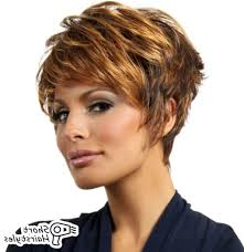 Messy Short Womens Haircuts For Thick Hair Short Hairstyles For