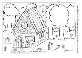 Kleurplaat De Droomvallei With Kleurplaat Huis Met Bloemen