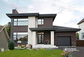 Modern House Plan 4 Bedroom Inspirational Beautiful U0026amp; Affordable Modern  House Plan Collection Drummond