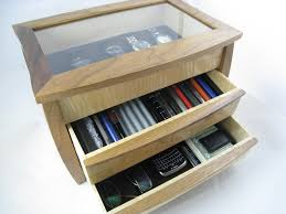 mens wood valet for pens watches and glasses officesupplygeek
