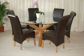 black glass dining table 6 chairs modest ideas inspiring design