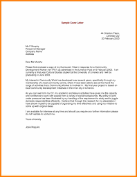 7 Cover Letter Example For Resume Prome So Banko