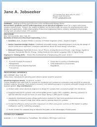 Electrical Engineering Resume Samples Doc Engineer Resumes Template
