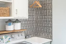 Utility Sink Backsplash Fascinating Laundry Room Makeover Day 48 Utility Sink Gets Some Love The