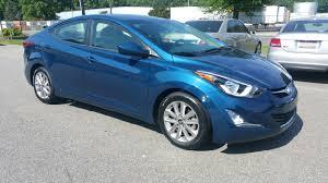hyundai elantra 2015 blue. Exellent Hyundai 2015 Hyundai Elantra SE 4dr Sedan  Greensboro NC For Blue