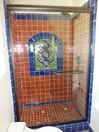 Mexican Bathroom bathroom shower using mexican tiles by kristiblackdesigns 1592 by guidejewelry.us