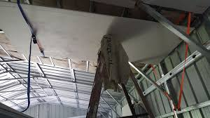 hanging ceiling drywall by yourself