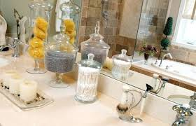 white grey bathroom and clear glass