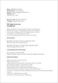 Graduate Cover Letter Examples Sample Nursing Resume New Graduate Cover Letter For New Grad New