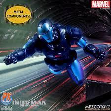 Comic Book Hero Action Figures Mezco Toyz 1/12 One 12 Collective PX  Previews Stealth Armor Iron Man New Rare Toys & Hobbies goothai.com