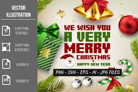 Merry Christmas Vector Clipart Bundle Graphic By Artnovi Creative Fabrica