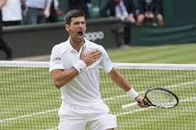 Back in Wimbledon final, Djokovic to ...