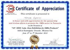 Samples Certificate Of Appreciation Efestudios Co