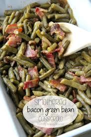smothered bacon green bean cerole familyfreshmeals