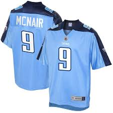 Jersey Light Blue Mcnair Tennessee Titans Men's Steve Line Player Nfl Retired Pro