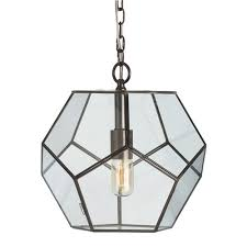 clear glass prism pentagon pendant light. Modren Prism 62400 Shades Of Light Clear Glass Prism Pentagon Pendant With E