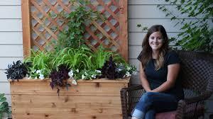 Free Standing Trellis Planter