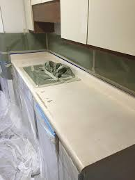 st charles il kitchen counter refinish before 2