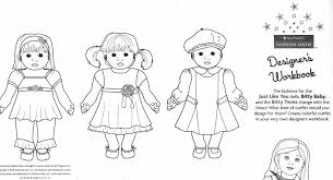American Girl Doll Coloring Page Nauhoituscom All About 10k Top