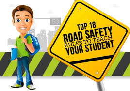 School Safety Rules Chart Top 18 Road Safety Rules To Teach Your Students Edsys
