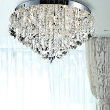 ceiling mount crystal chandelier contemporary ceiling lights crystal ceiling lamp semi flush inside contemporary flush mount