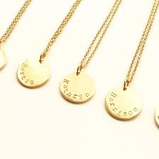 name disc pendant