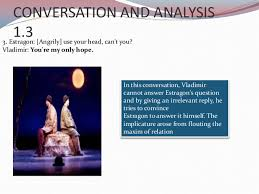 grice maxims and implicature in waiting for godot  analysis 1 3 16