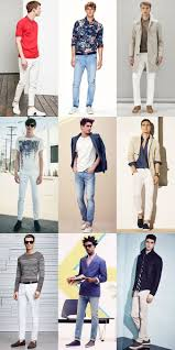 Light Summer Jeans Mens Recommended Wardrobe Additions Spring Summer 2015