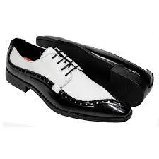 antonio cerrelli black white vegan leather lizard print derby dress shoes 6808