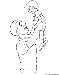 Small Picture Father Coloring Page GetColoringPagescom