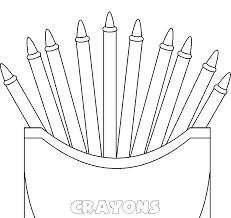 crayola crayon coloring pages crayon coloring page crayola crayon box coloring page crayon coloring pages general