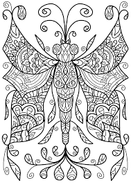 Free Colouring Page Dragonfly Thing By