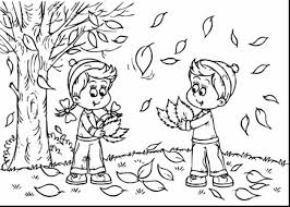 Small Picture Preschool Fall Leaves Coloring Pages Printable Kids Colouring In