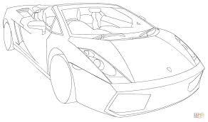 Small Picture Lamborghini Gallardo Spyder LP560 4 coloring page Free Printable