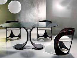 Designer Kitchen Table Designer Kitchen Table Fantastic Reclaimed - Black oval dining room table