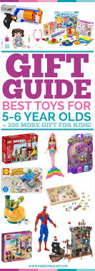 Kids Toy Gift Guide | Christmas Gifts For Perfect Six Year Kids: The Ultimate Age 0-6