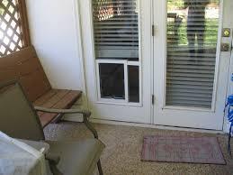 interior installed storm samsung doors with diy dog renderin patio