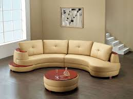 Round Living Room Furniture Round Sectional Sofa For Unique Seating Alternative Traba Homes