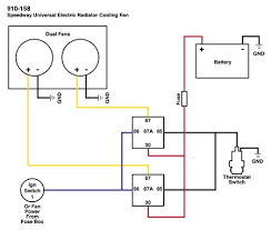 cooling fan wiring diagram wiring diagram wiring dual electric fans these dual fans wired up you can keep your car cool and