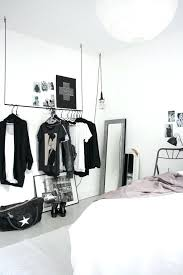 view in gallery hanging rack for a striking open concept closet coat closets wardrobe