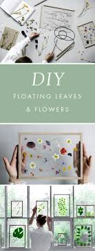 diy gift for the office diy floating leaves and flowers diy gift ideas for