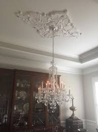 how to install ceiling medallion with a chandelier patrofi veloclub co