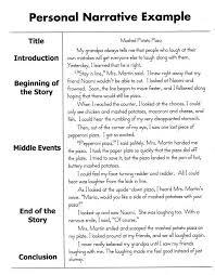narritive essay personal narrative essay sample personal narratives pinterest